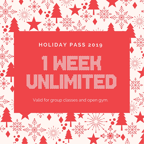 1 Week Unlimited Holiday Pass