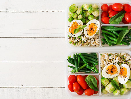 5 ESSENTIAL MEAL PREP TIPS