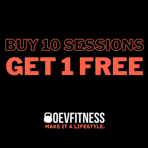 Buy 10 P/T Sessions Get 1 Free!!!