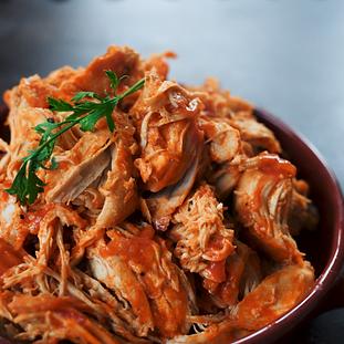 BBQ Pulled Chicken (Crockpot)