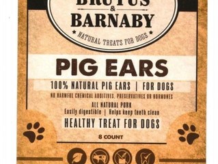 Health Officials: Avoid Pig-Ear Treats