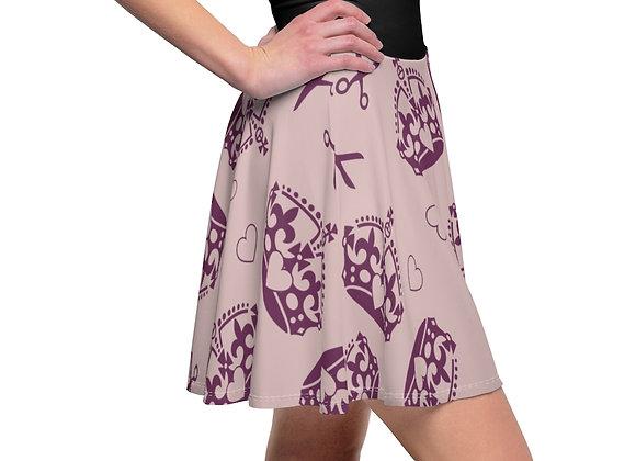 """""""Blush Pink"""" Women's Skater Skirt"""