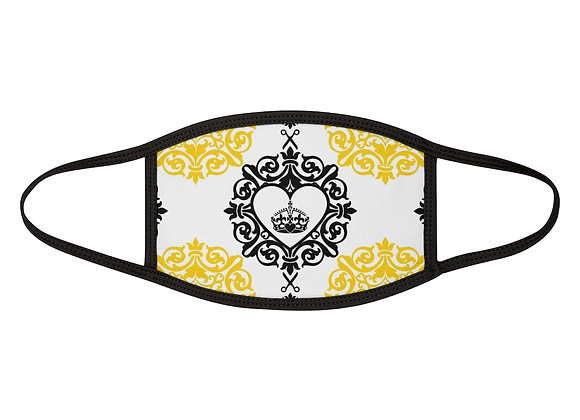 Black and Yellow Face Mask