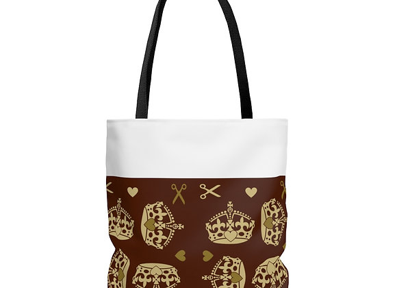 """""""Majestic Brown"""" Tote Bag"""