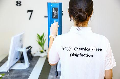 handheld uv sanitizing device