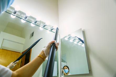 bathroom sanitizing