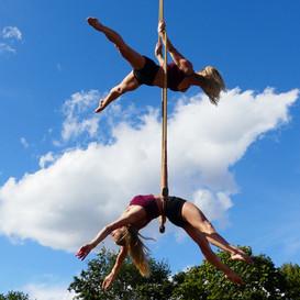 Trapeze Twins!