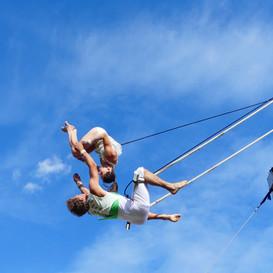 Trapeze Tricks from Avital and Jochen.