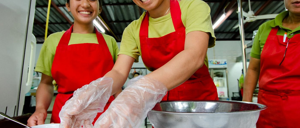 Friends International – Providing vocational training in cooking and hospitality