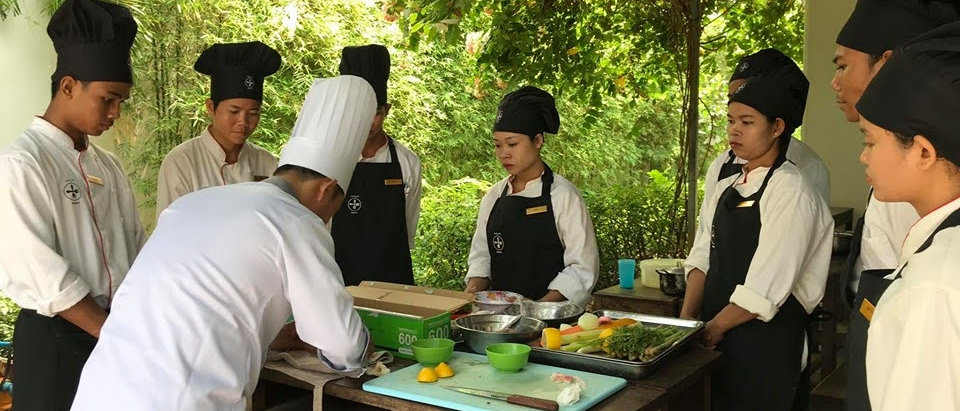 EGBOK – Employing and developing under-served young adults in Cambodia