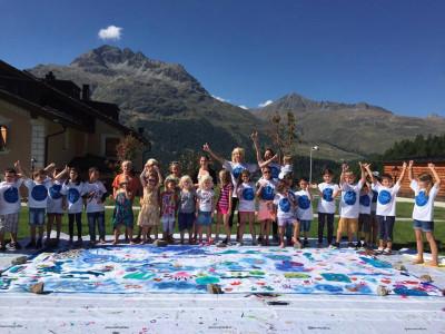 Art Masters St Moritz Kids Day