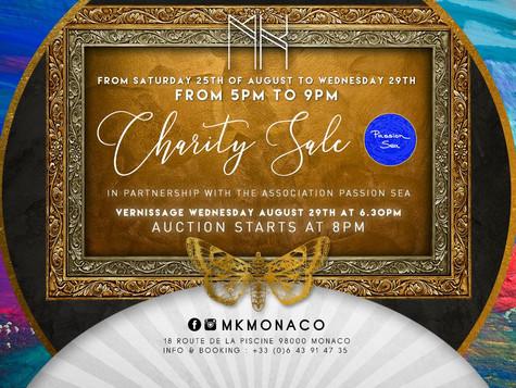 Charity Art Auction Monaco