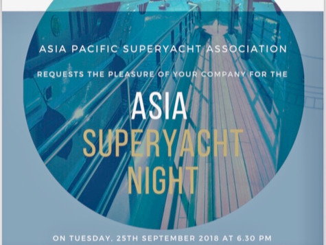 Asian Superyacht night