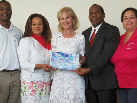 Passion Sea Official visit to Grand Bahama island