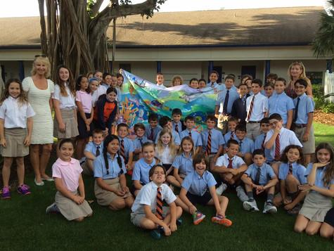 Education & Creativity day at Benjamin School Florida