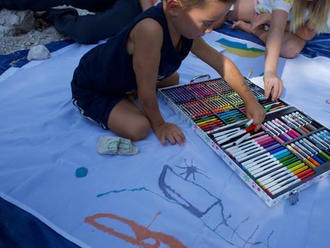 Children Art & Education Workshop during Kranjska Gora, Slovenia Film Festival