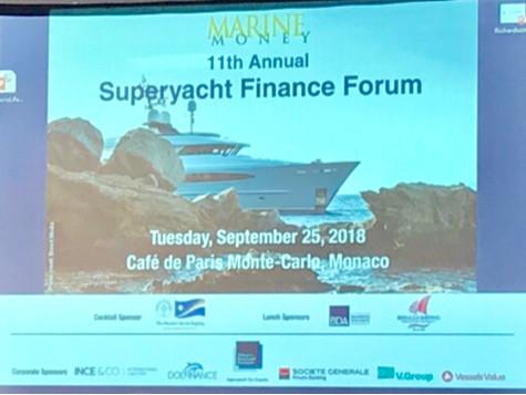 Marine Money Conference Monaco Yacht Show