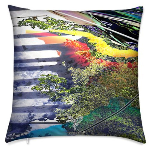 Phoenix Dream Outdoor Pillow