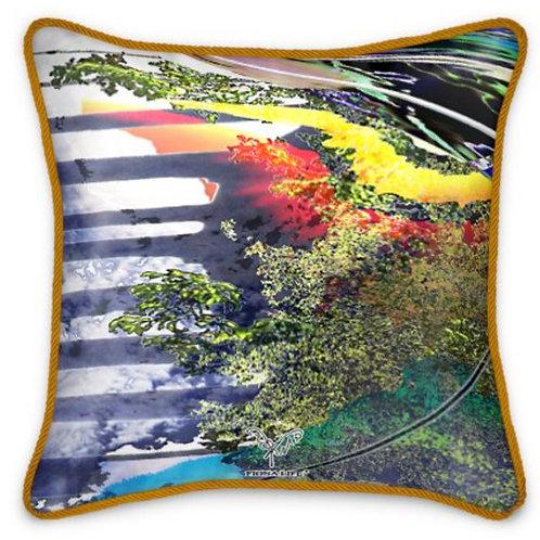 Phoenix Dream Silk Cushion