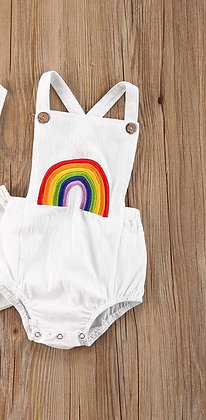 All Day Rainbow Romper