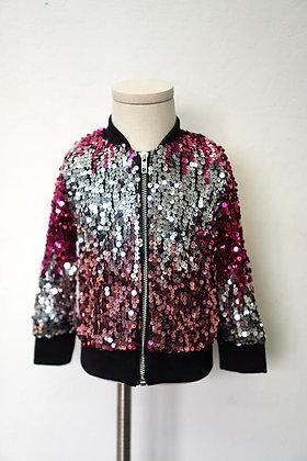 Rose Sequin Jacket