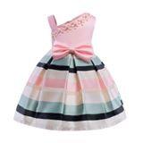 Stripe Easter Dress