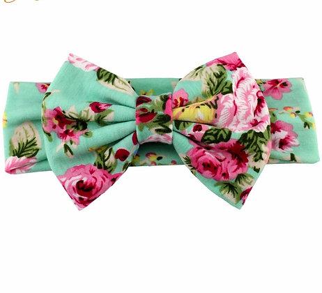 Teal Floral HB
