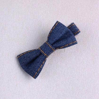 Denim Hair Clip