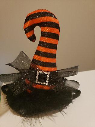 Orange Witch Headband