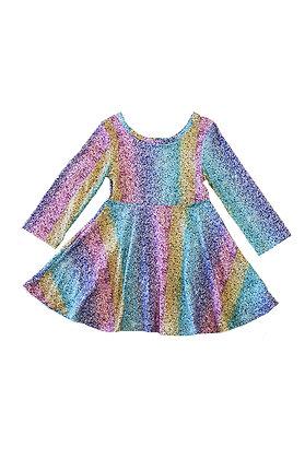 Glitter Rainbow Dress