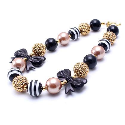 Gold & Black Necklace