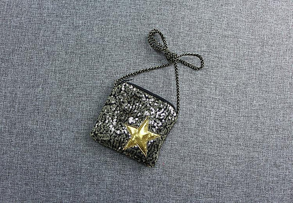 Sequined Star Purse