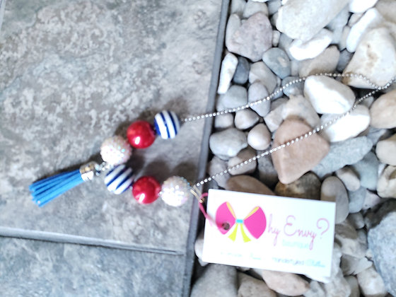 Red White & Blue Necklace