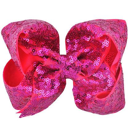 Dark Hot Pink Bow