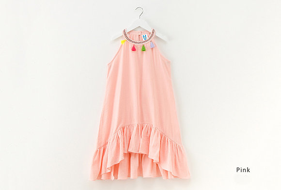 Summer Tassel Dress
