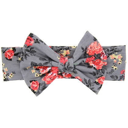 Gray Floral HB