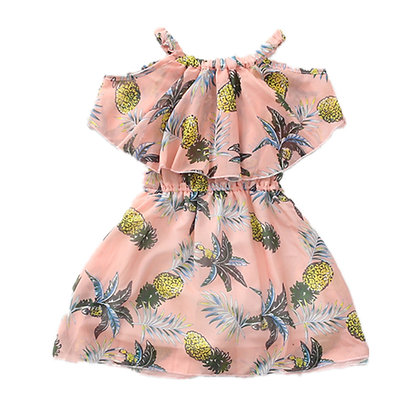 Bohemian Pineapple Dress