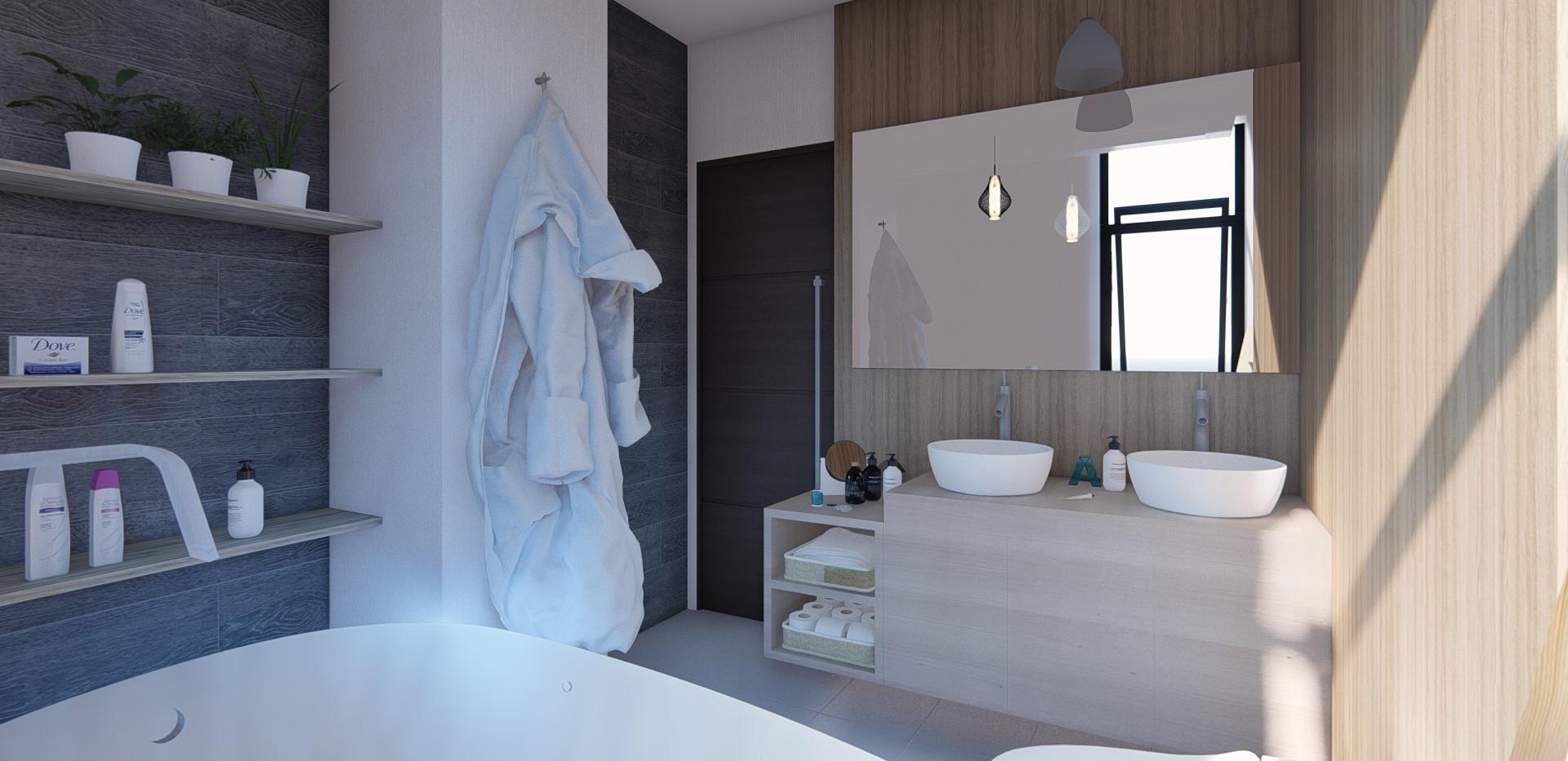 Baño habitación master
