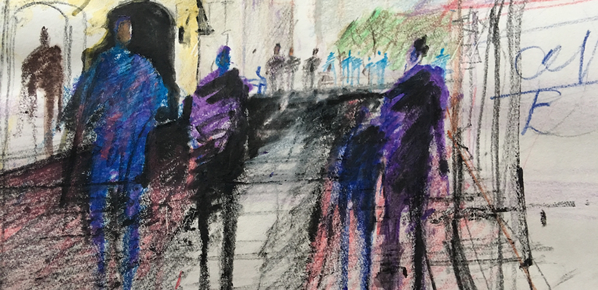 people/ street scene