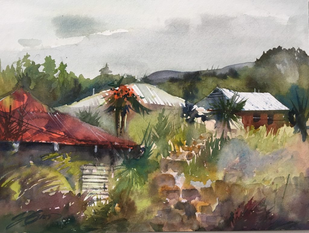Hawaiian architecture, the Big Island