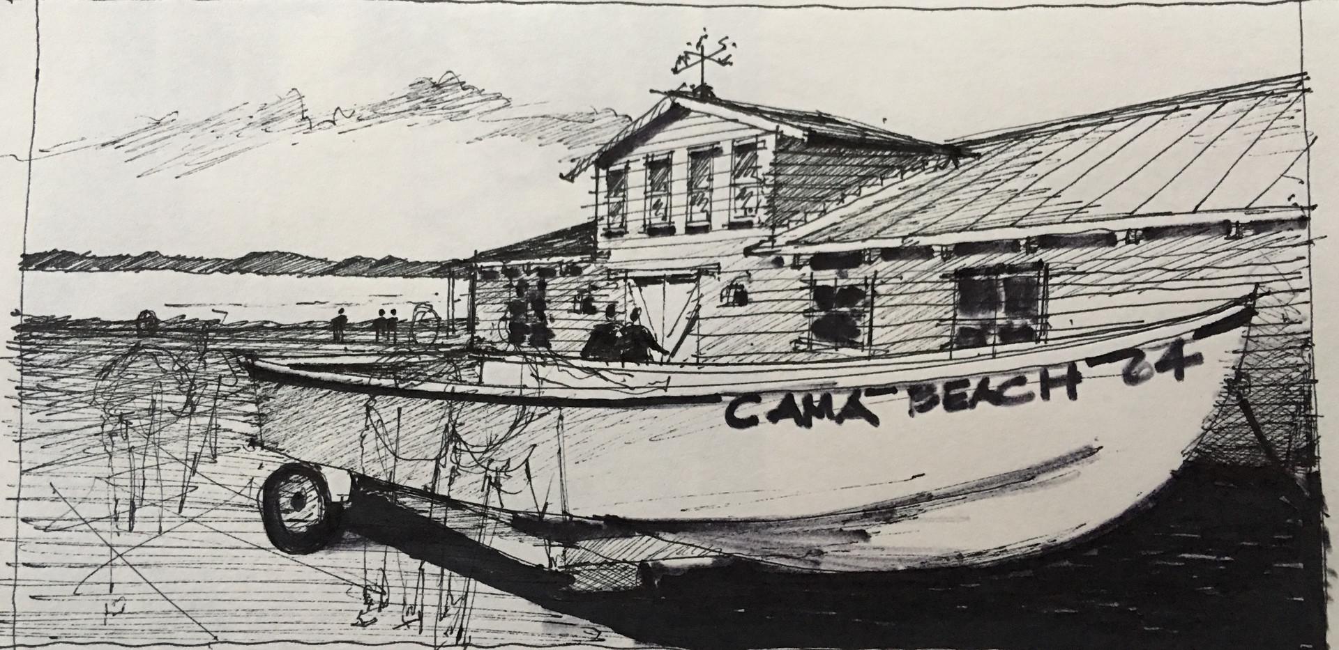 Wood Boat Center #2