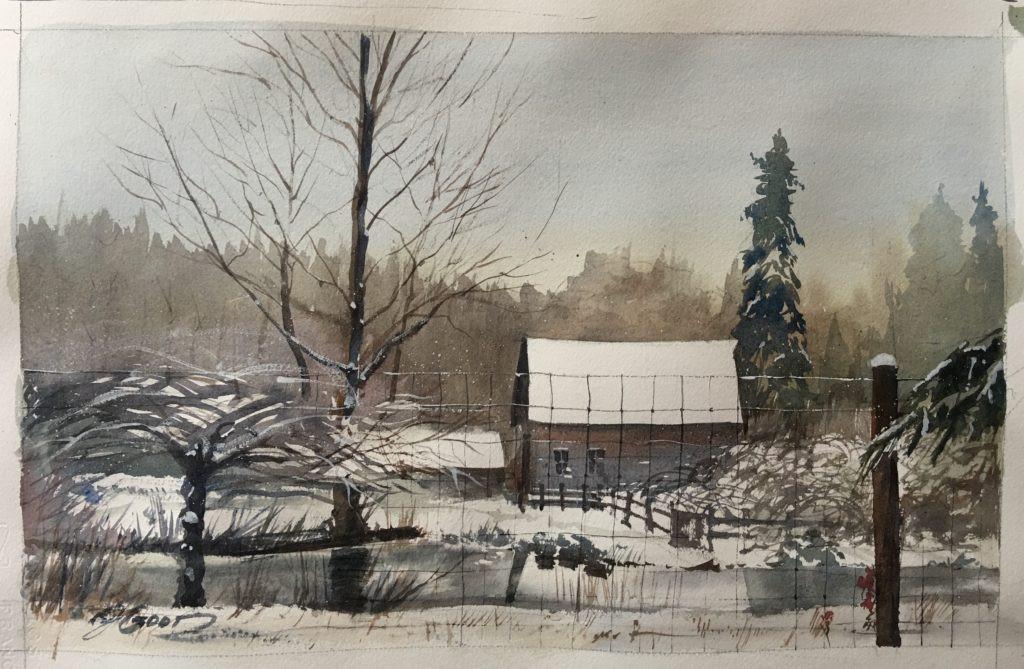 Winter Vashon