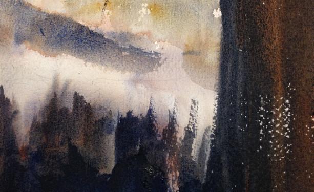 mist across Colvos Passage