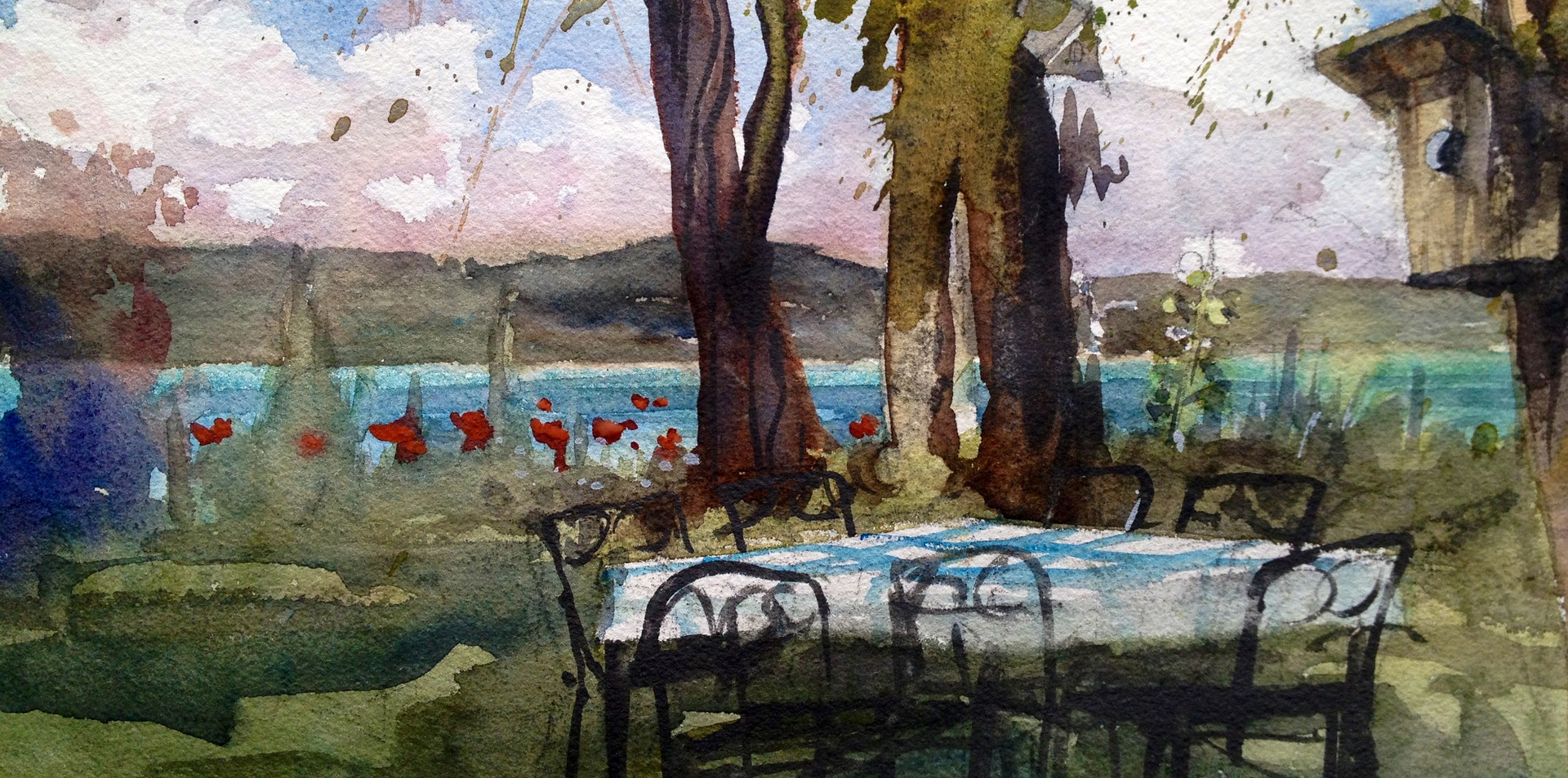 Whidbey Island picnic