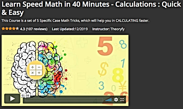 Learn_Math_in_40_Mins_Eduonix Course