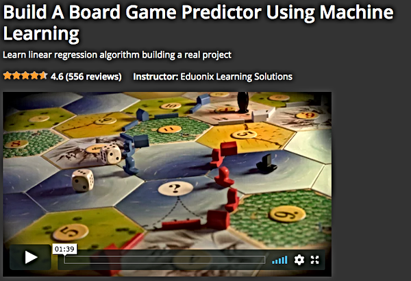 Predict_Board_Game_with_Machine_Learning_Eduonix Course