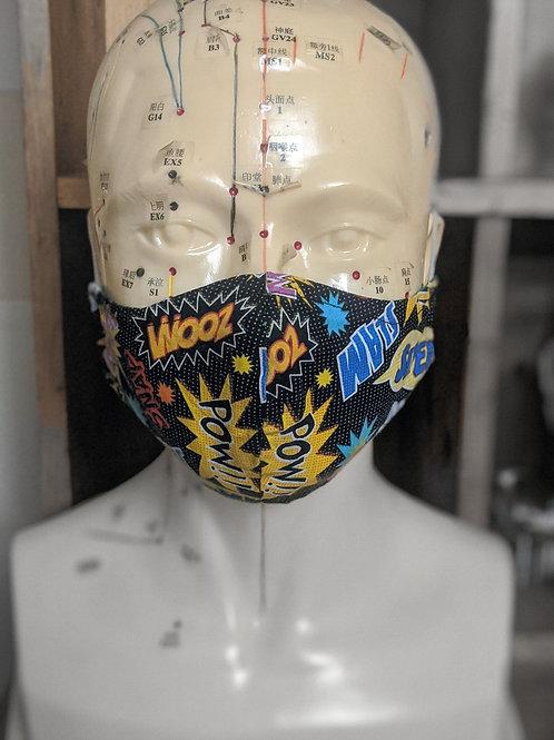 Comic Style Mask