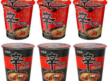 Instant Noodle(Beef, Chicken, &Spicy