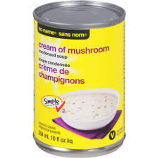 Canned Soup Cream of Mushroom