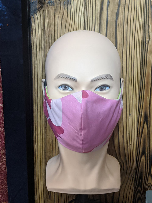 Pink Camo Mask